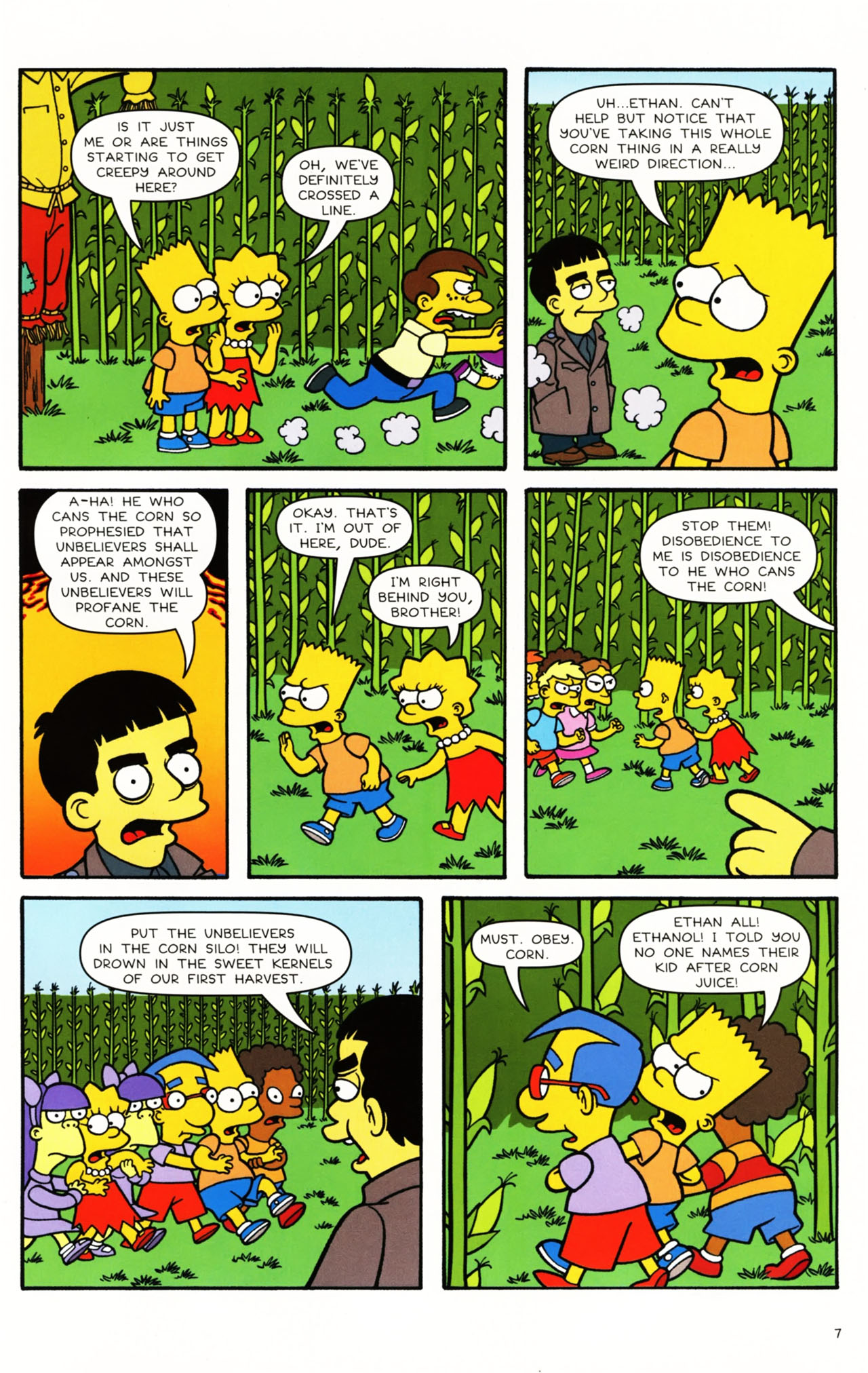 Read online Simpsons Comics Presents Bart Simpson comic -  Issue #49 - 8