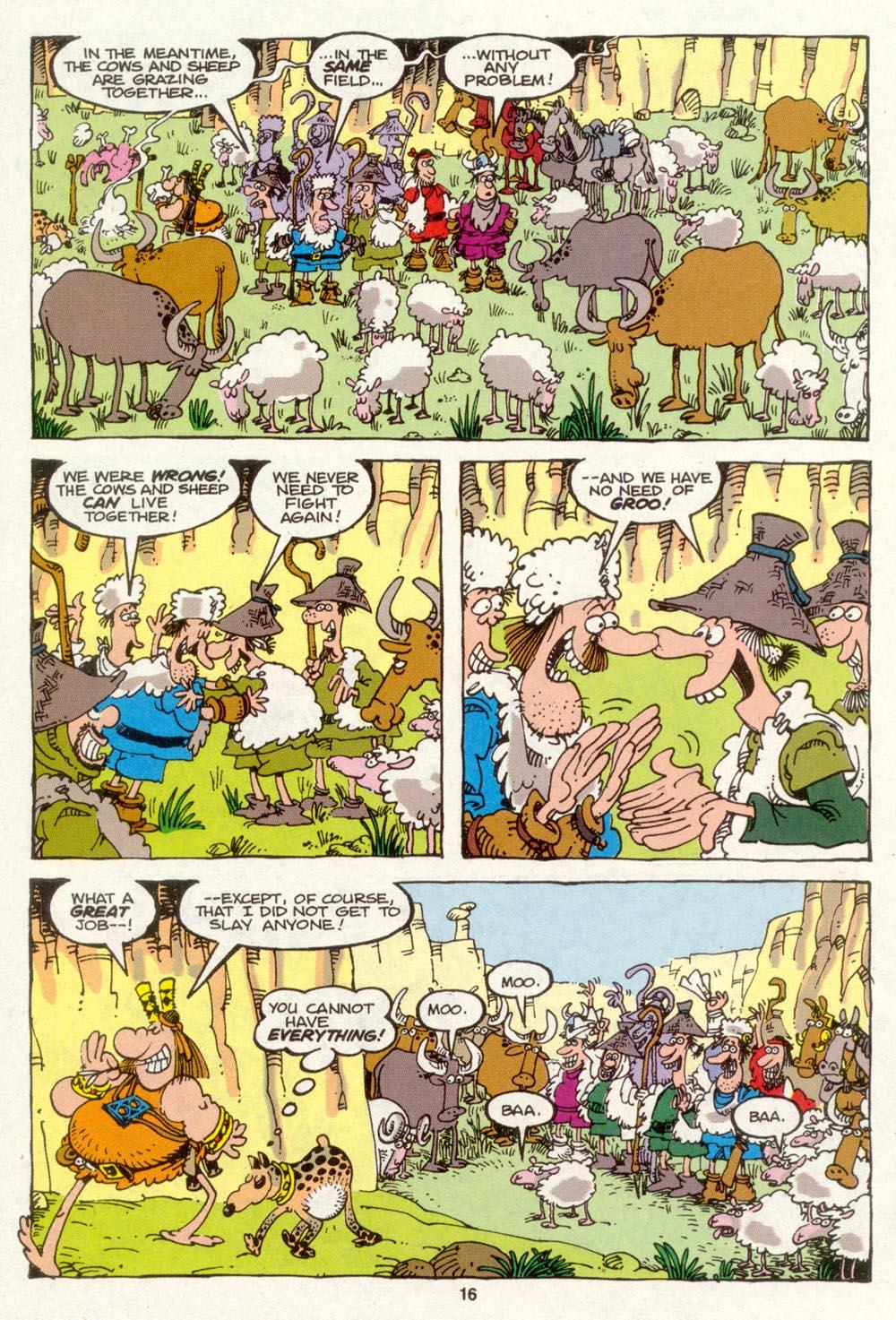 Read online Sergio Aragonés Groo the Wanderer comic -  Issue #88 - 17