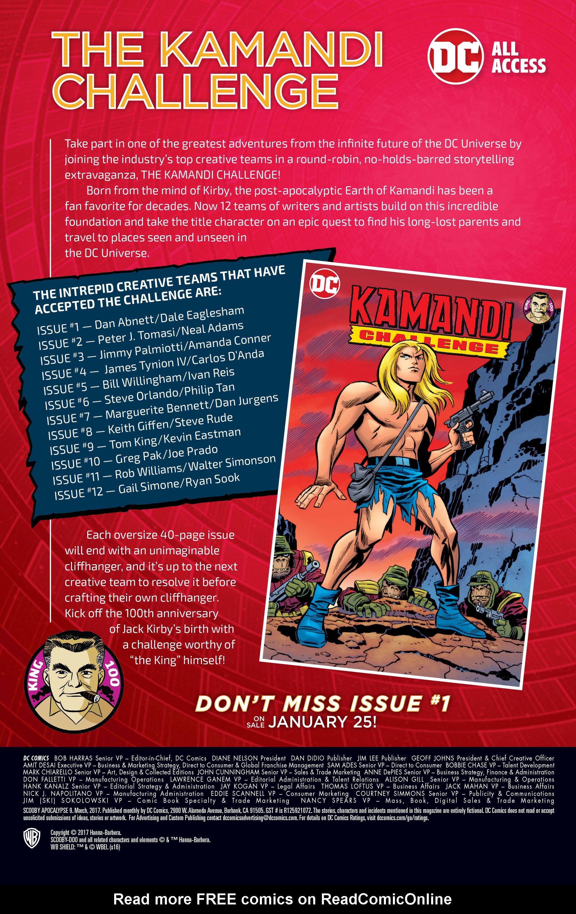 Read online Scooby Apocalypse comic -  Issue #9 - 27
