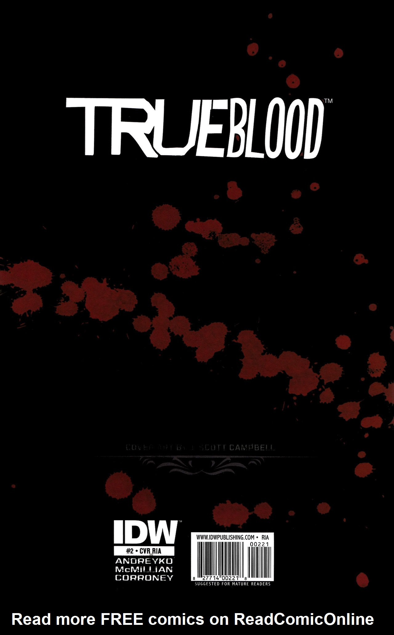 Read online True Blood: Tainted Love comic -  Issue #2 - 34