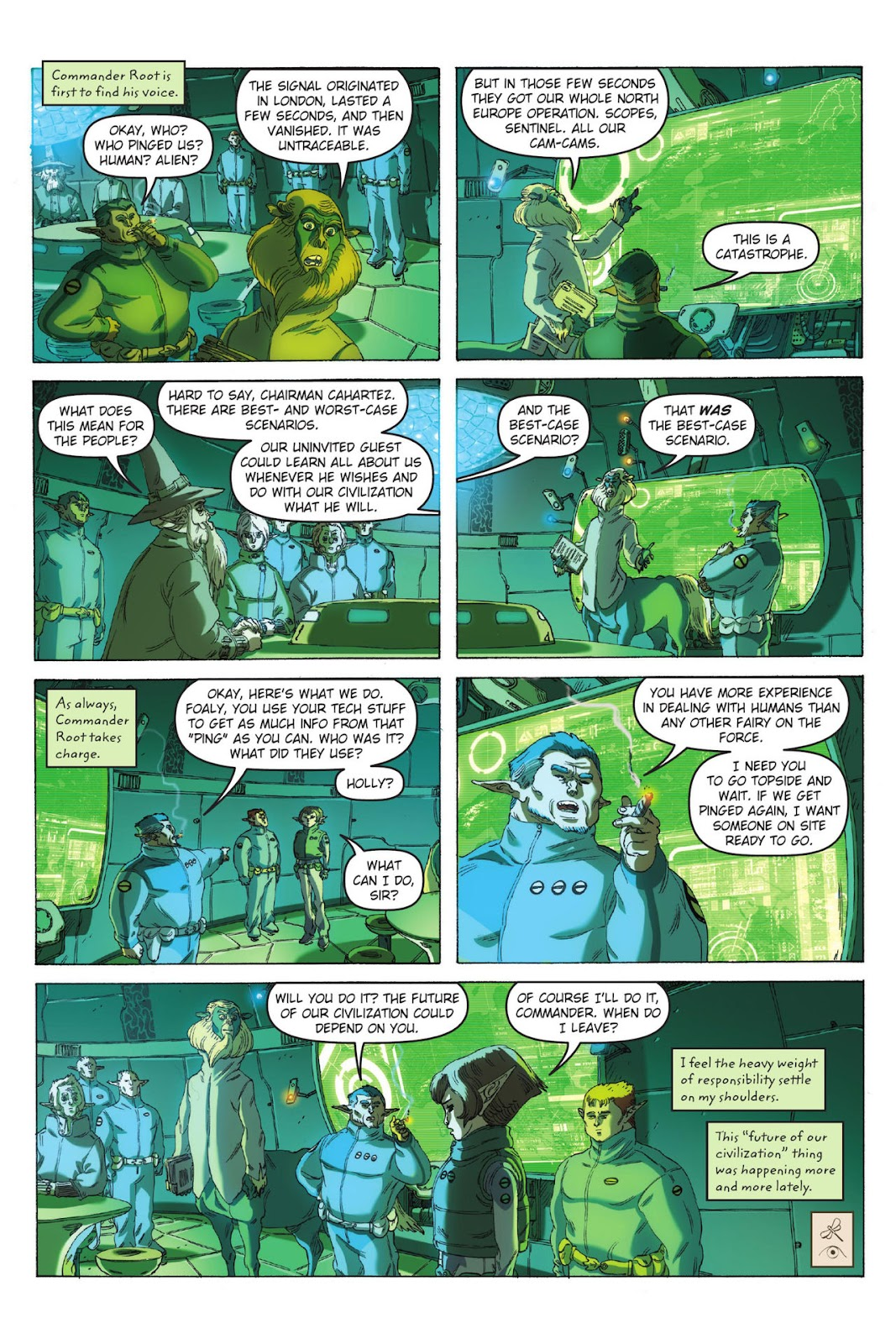 Artemis Fowl: The Eternity Code issue TPB - Page 23