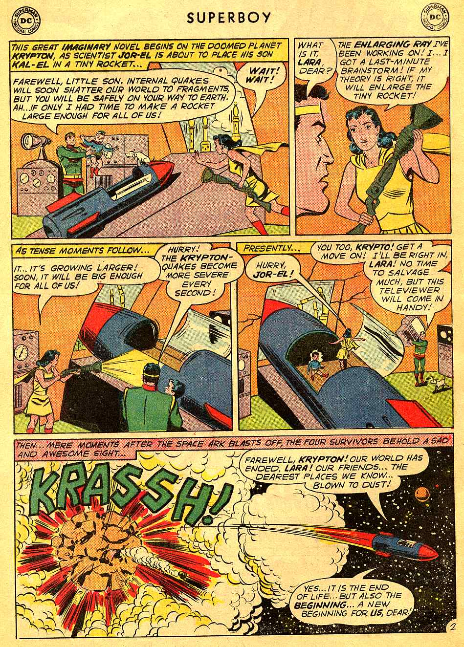 Superboy (1949) issue 95 - Page 3