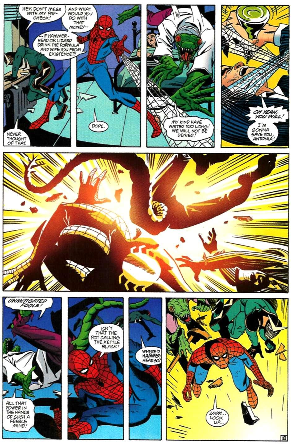 Read online Spider-Man: Lifeline comic -  Issue #3 - 18
