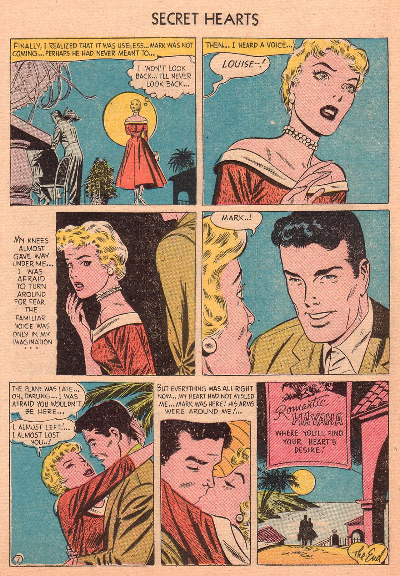 Read online Secret Hearts comic -  Issue #27 - 16