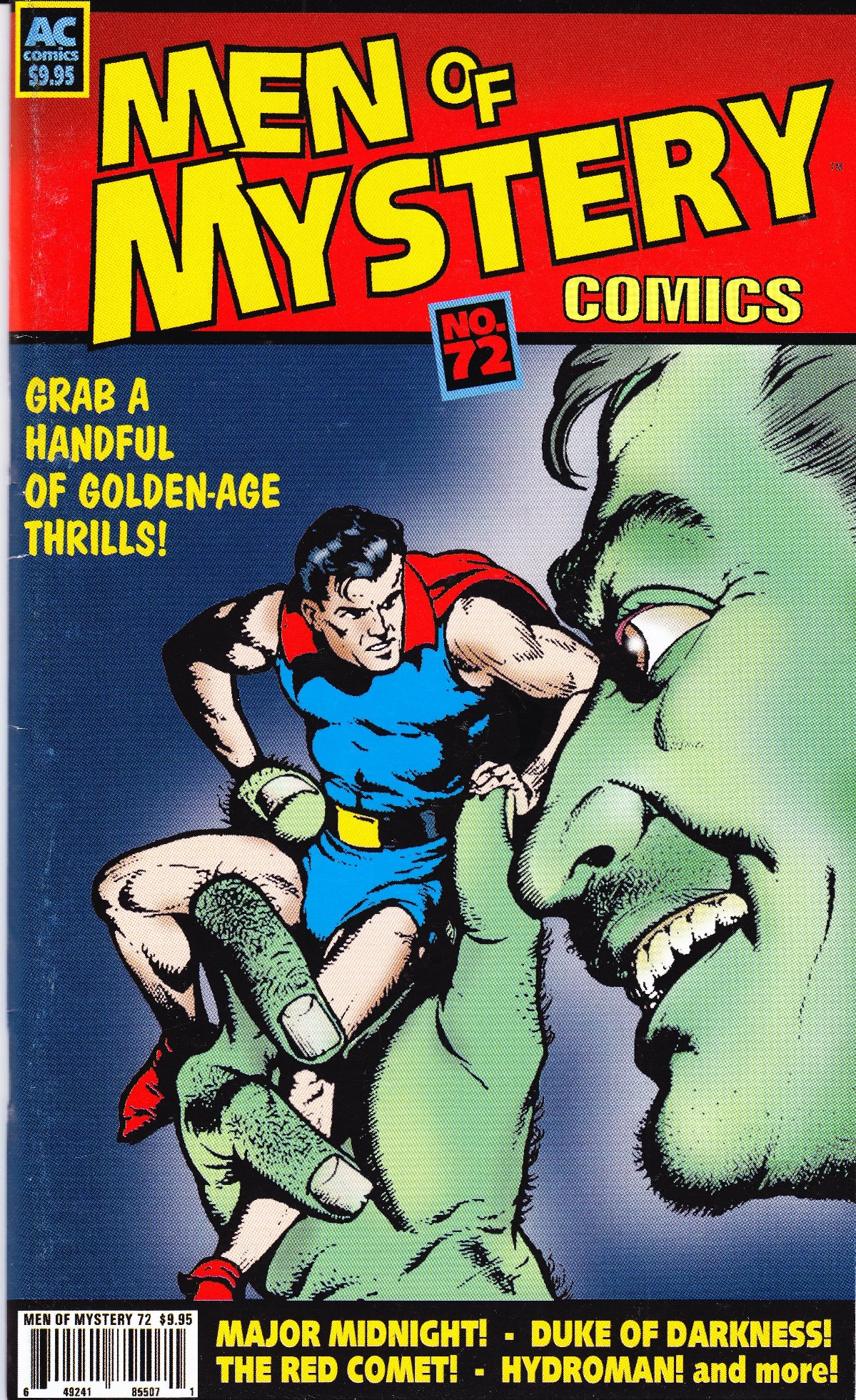 Read online Men of Mystery Comics comic -  Issue #72 - 1