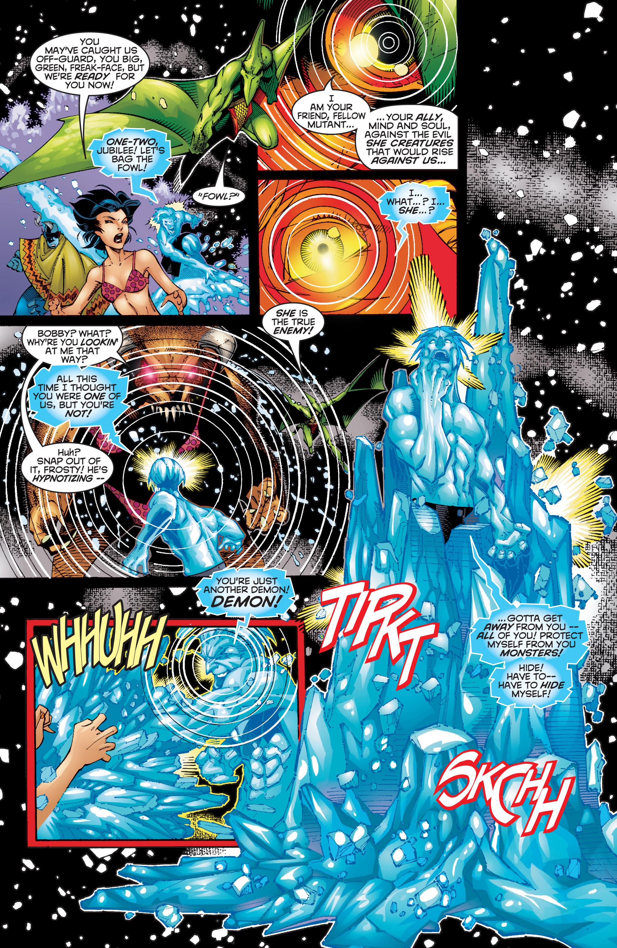 Read online Uncanny X-Men (1963) comic -  Issue #354 - 8