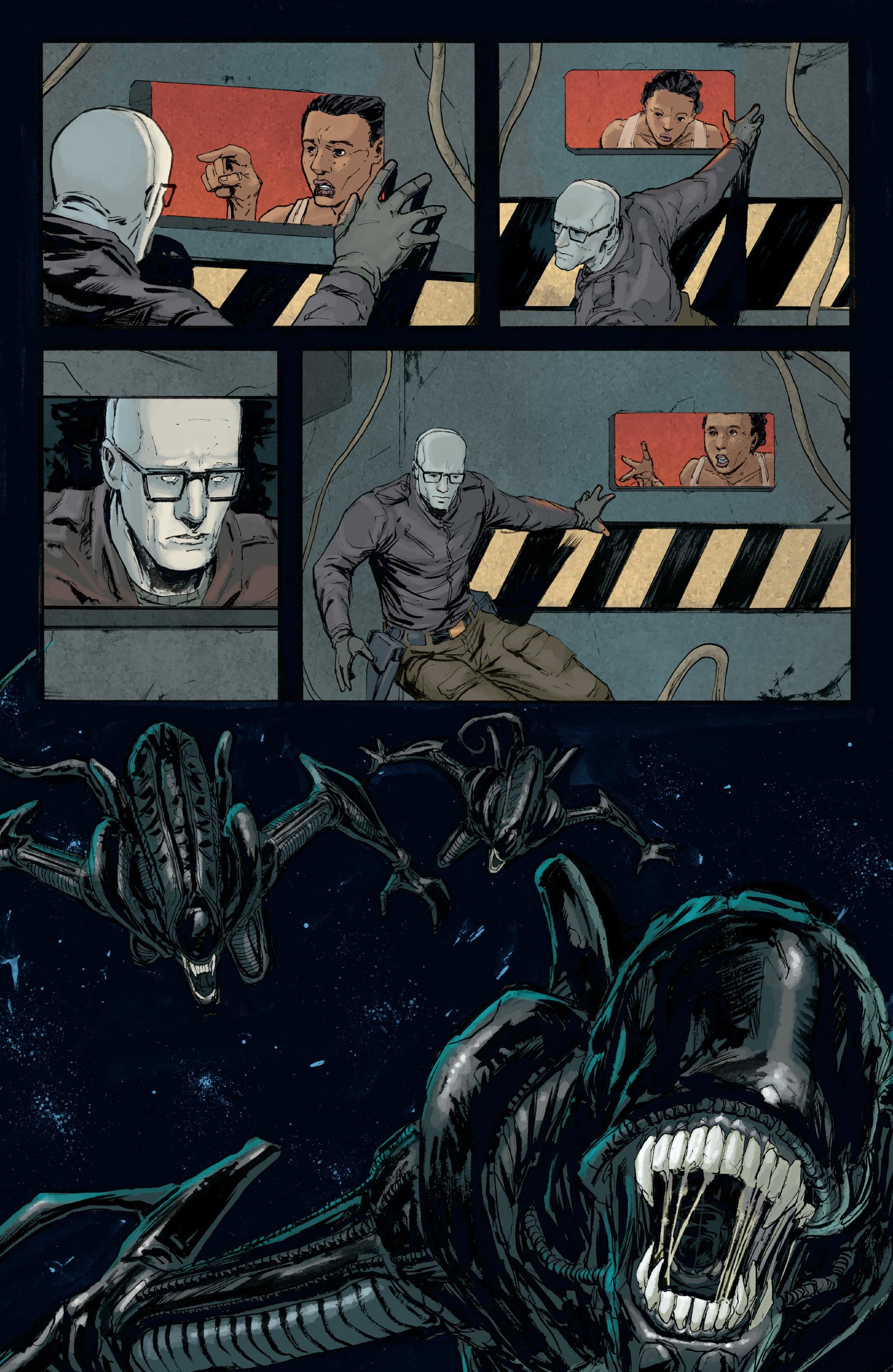 Read online Aliens: Defiance comic -  Issue #8 - 18