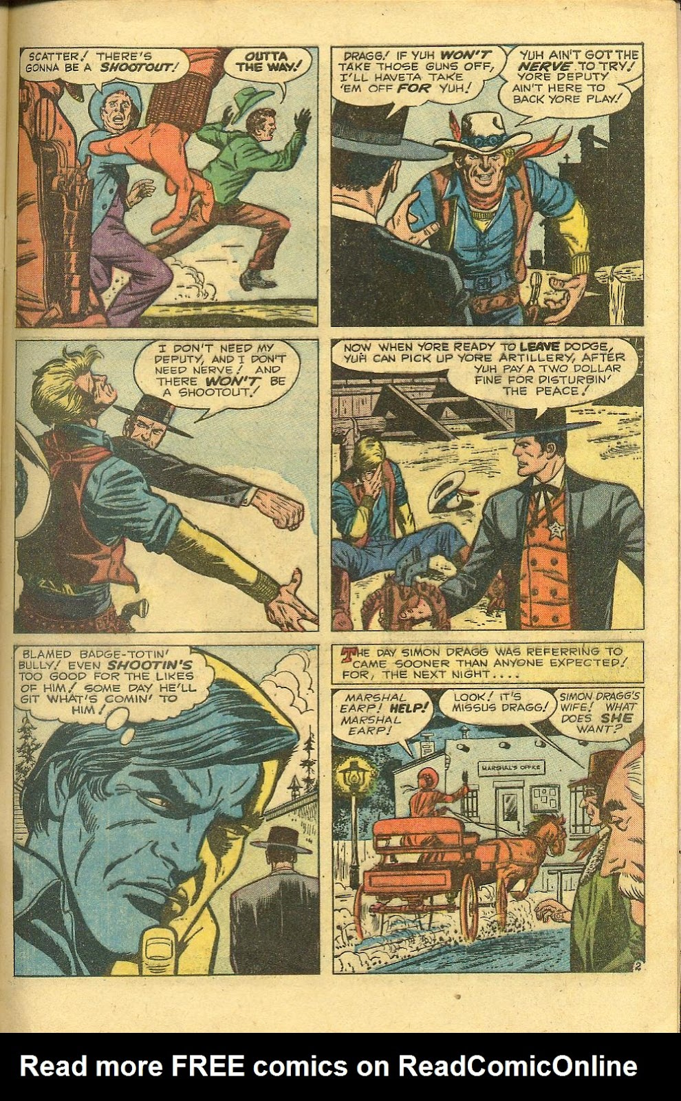 Gunsmoke Western issue 58 - Page 29