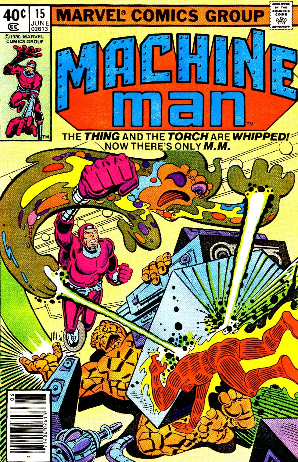 Machine Man (1978) issue 15 - Page 1