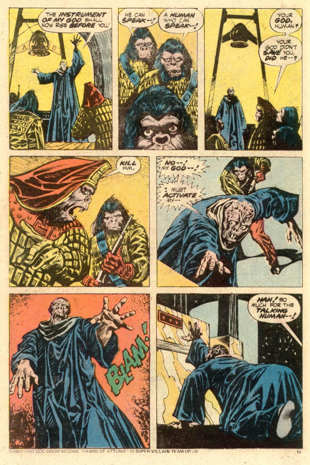 Read online Adventures on the Planet of the Apes comic -  Issue #11 - 11
