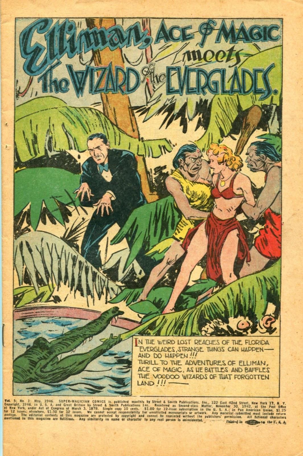 Read online Super-Magician Comics comic -  Issue #49 - 3