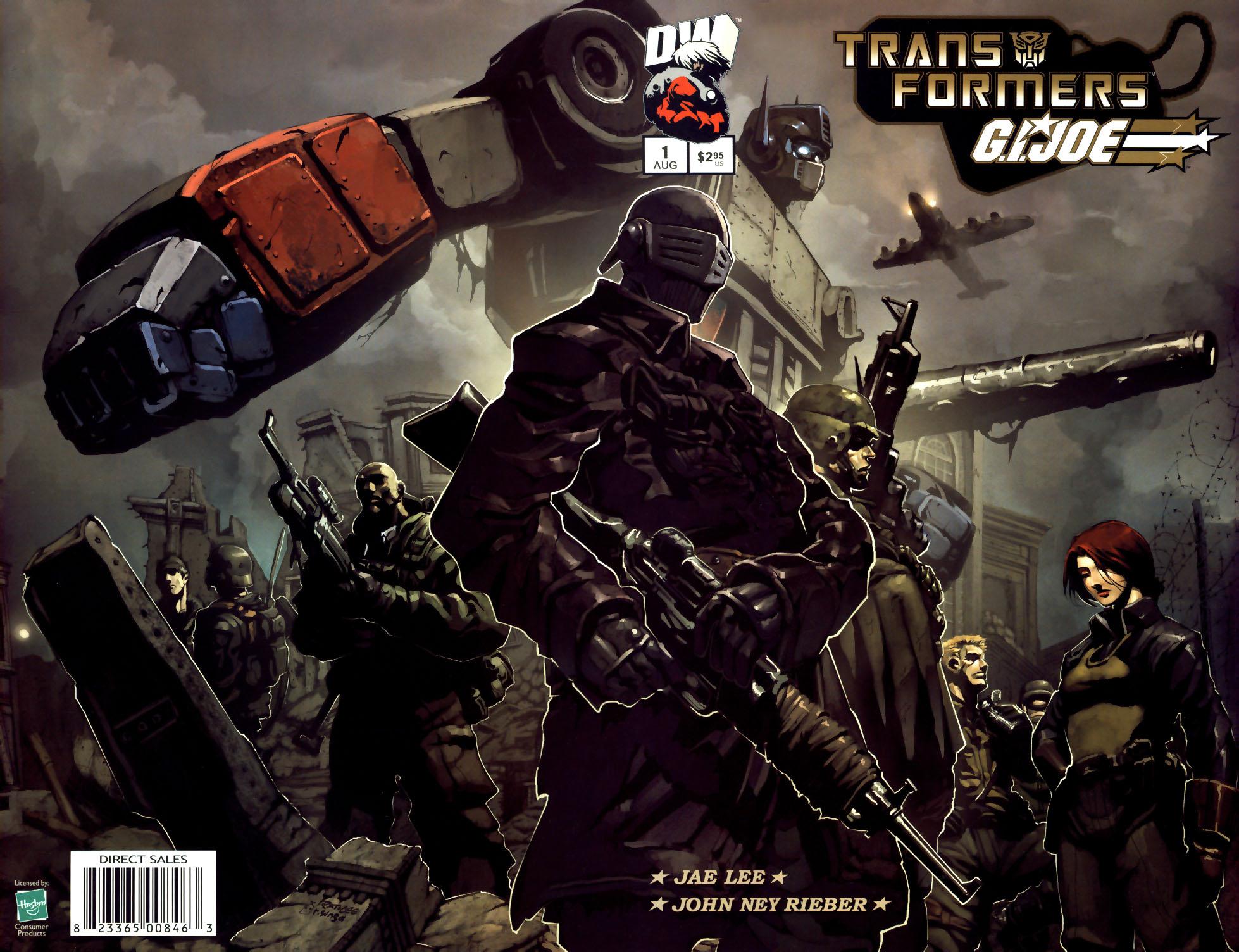 Read online Transformers/G.I. Joe comic -  Issue #1 - 1