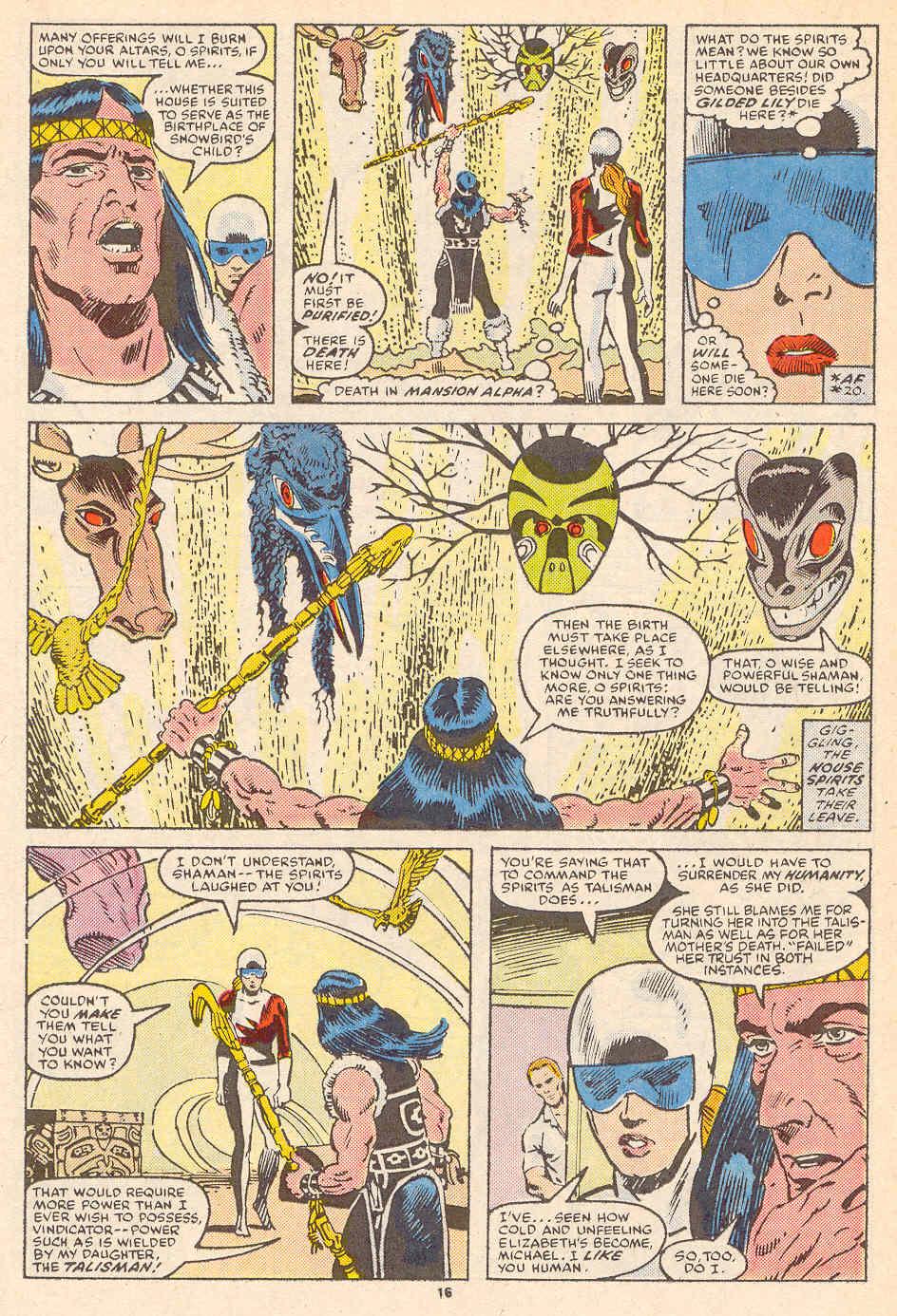 Read online Alpha Flight (1983) comic -  Issue #36 - 17