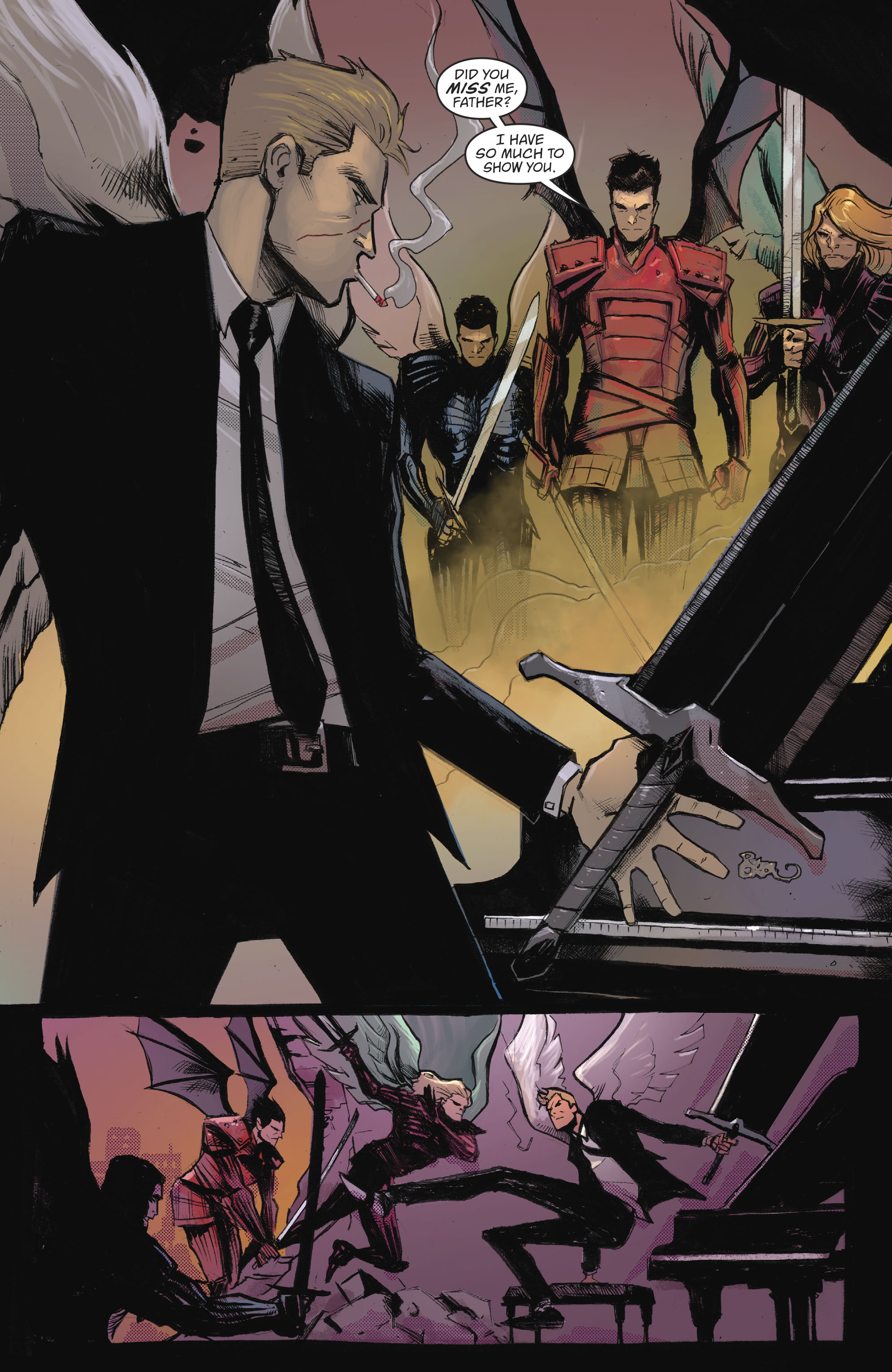 Read online Lucifer (2016) comic -  Issue #18 - 2