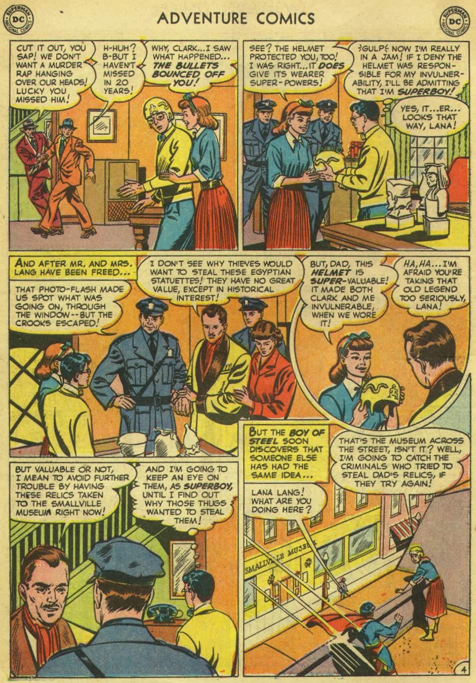 Read online Adventure Comics (1938) comic -  Issue #167 - 6