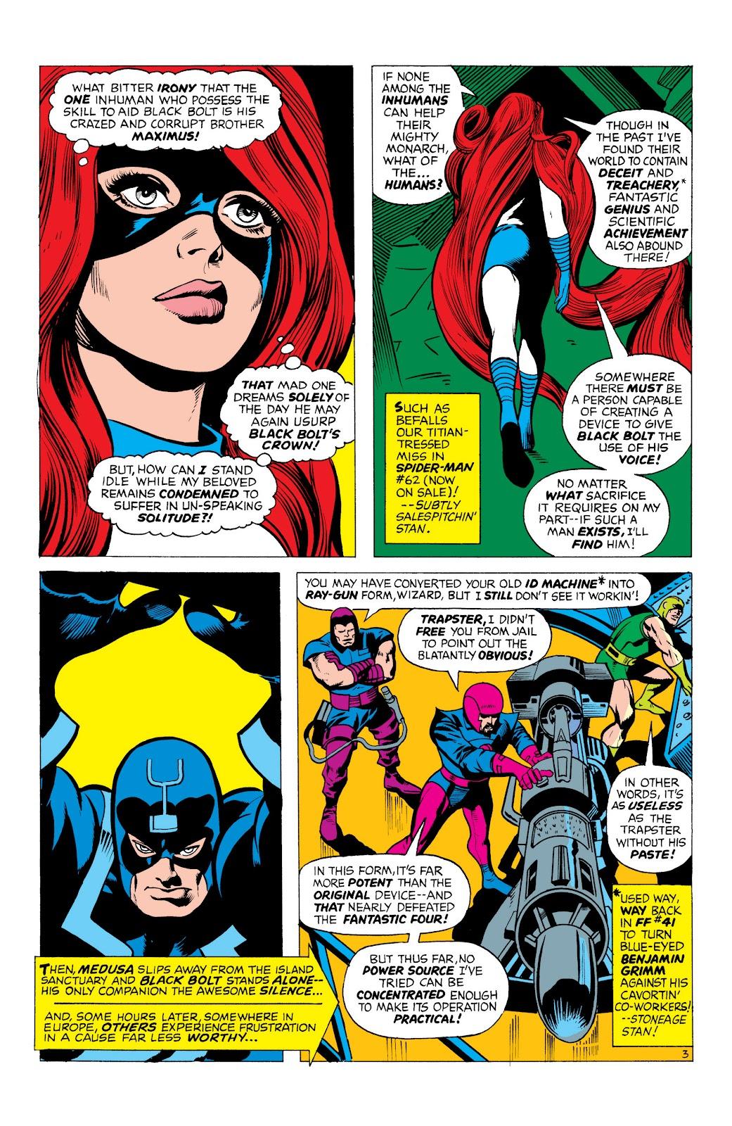 Read online Marvel Masterworks: The Inhumans comic -  Issue # TPB 1 (Part 1) - 46