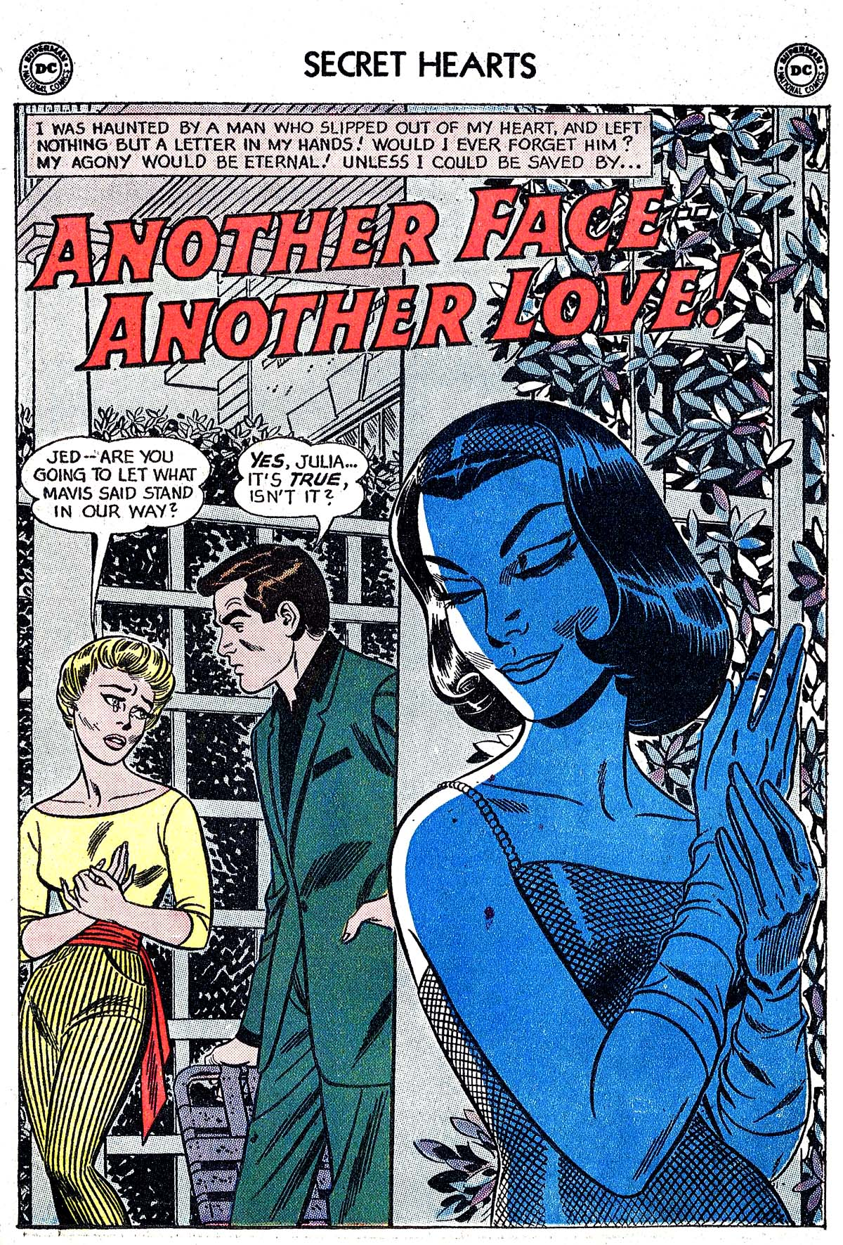 Read online Secret Hearts comic -  Issue #82 - 27