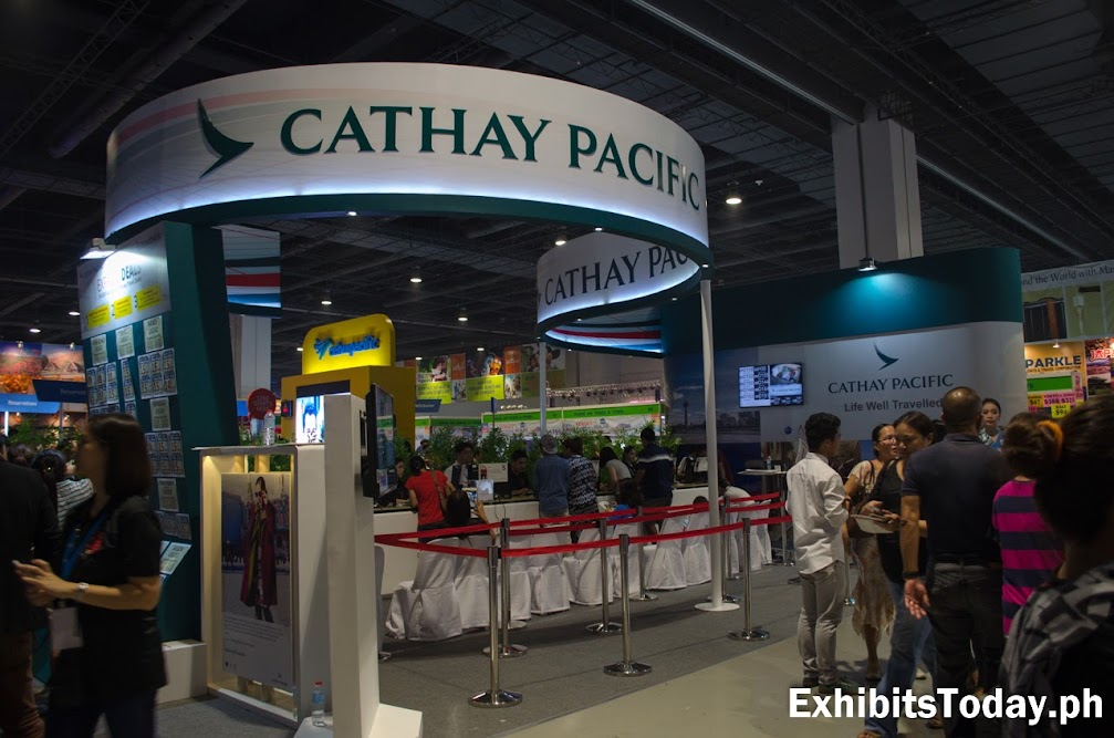 Cathay Pacific Trade Show Booth