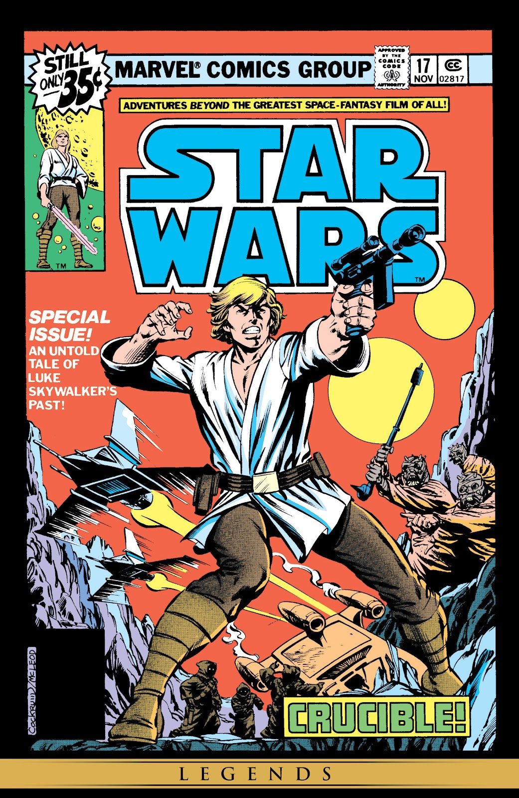 Read online Star Wars Legends: The Original Marvel Years - Epic Collection comic -  Issue # TPB 1 (Part 3) - 97