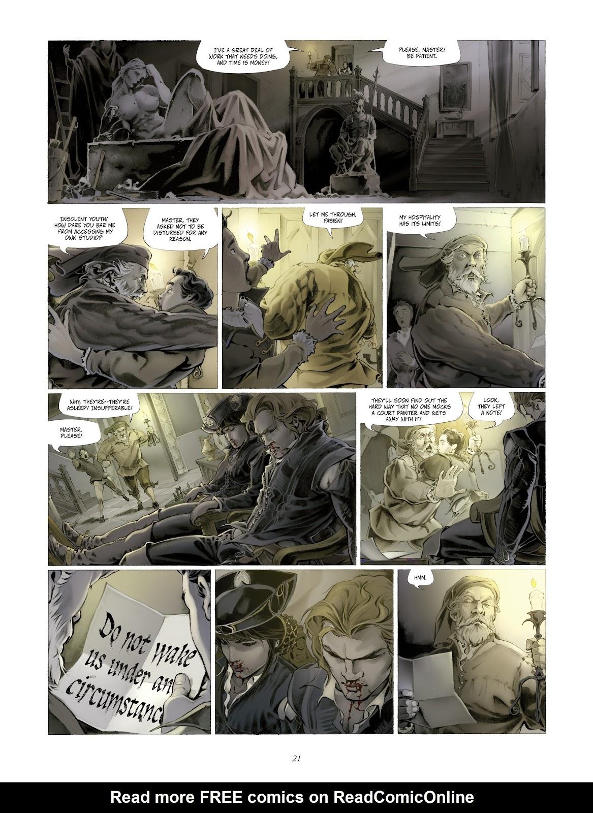 Read online Arthus Trivium comic -  Issue #4 - 23