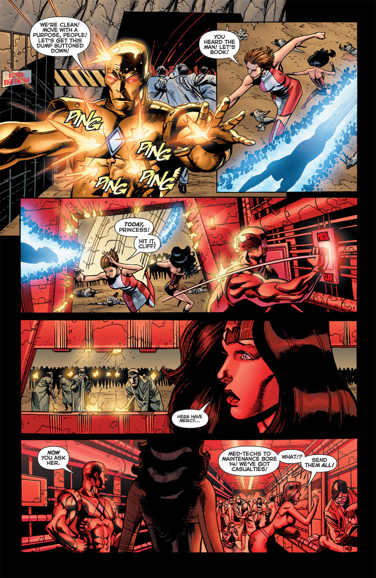 Read online 52 Aftermath: The Four Horsemen comic -  Issue #4 - 7
