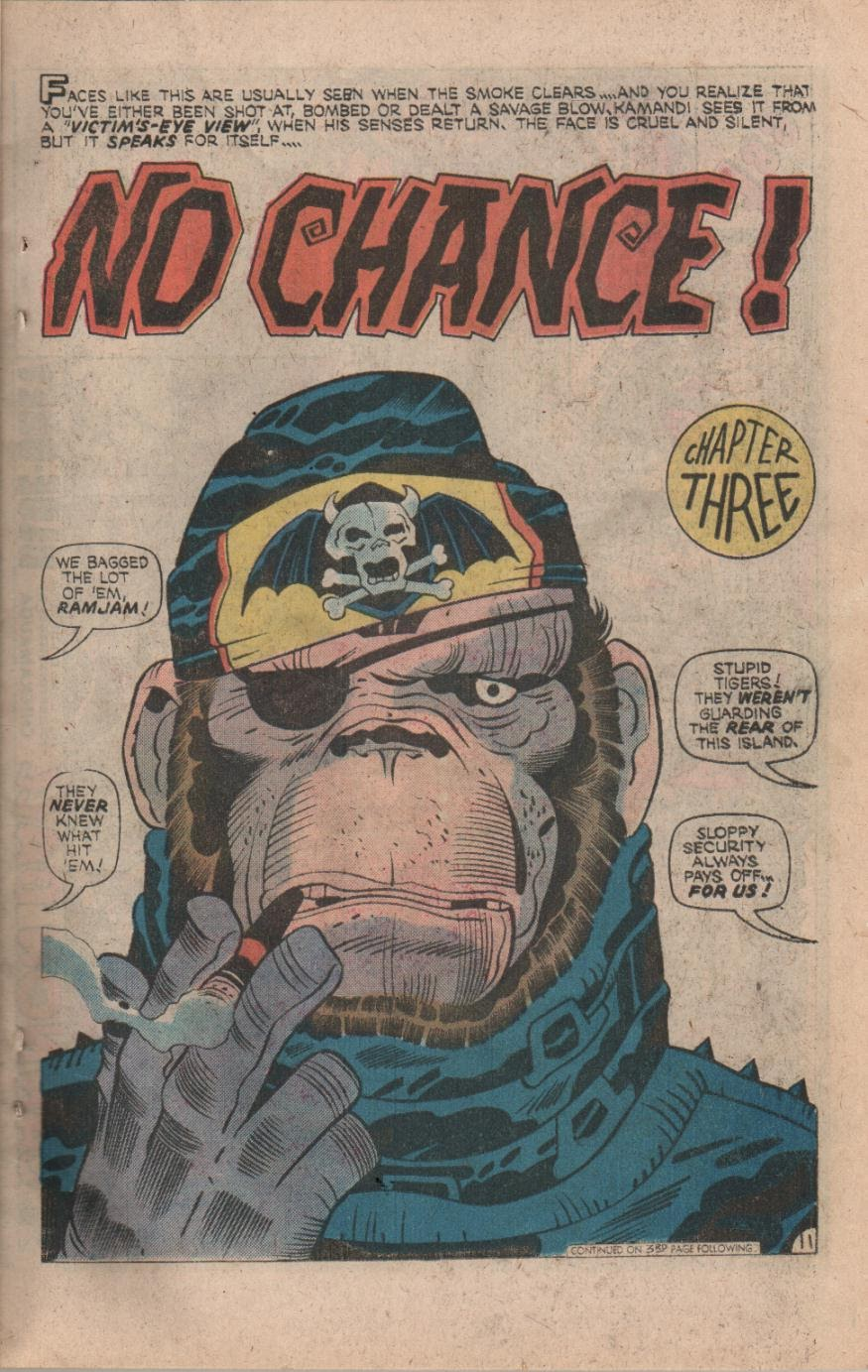Kamandi, The Last Boy On Earth issue 32 - Page 13