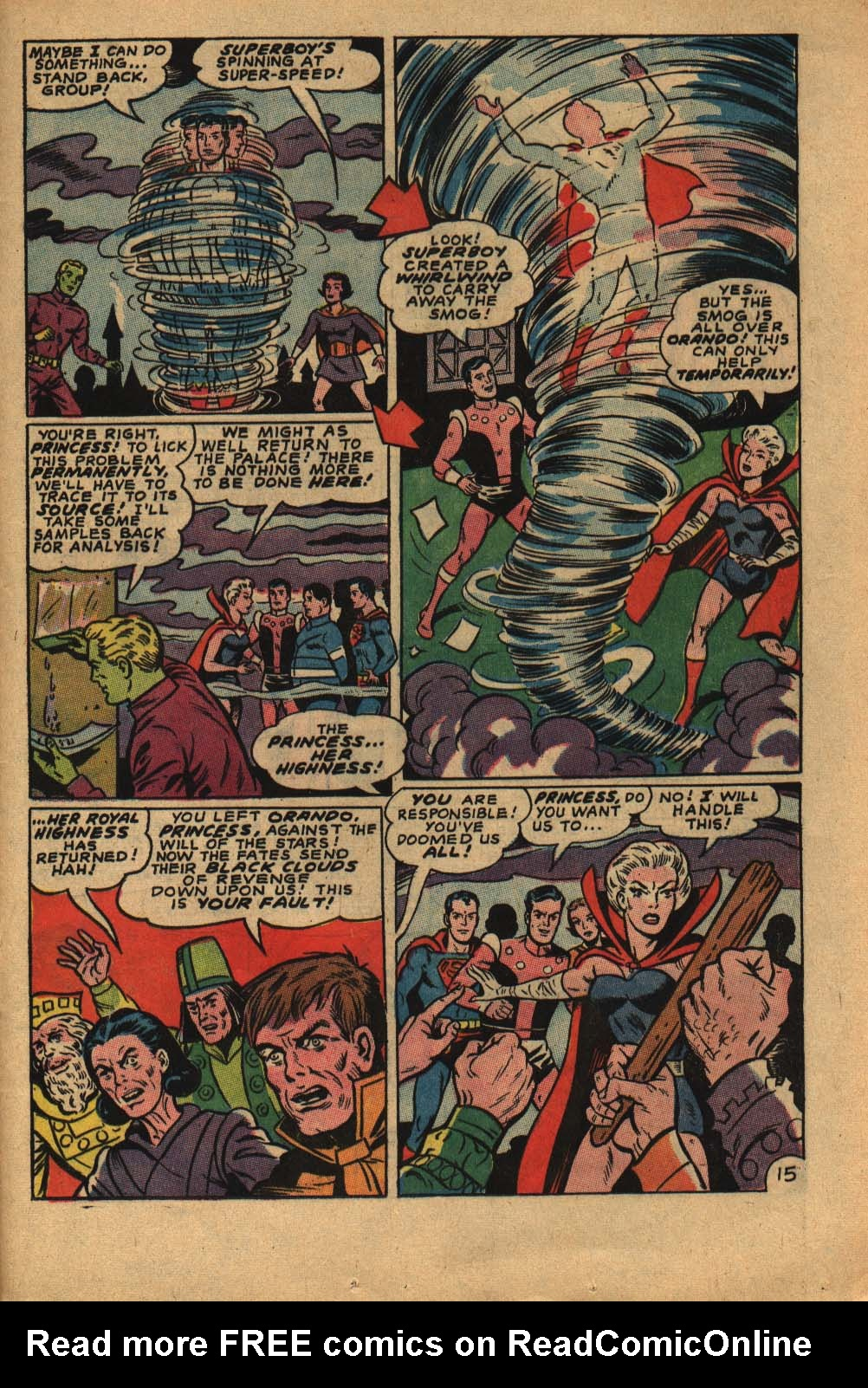Read online Adventure Comics (1938) comic -  Issue #362 - 25