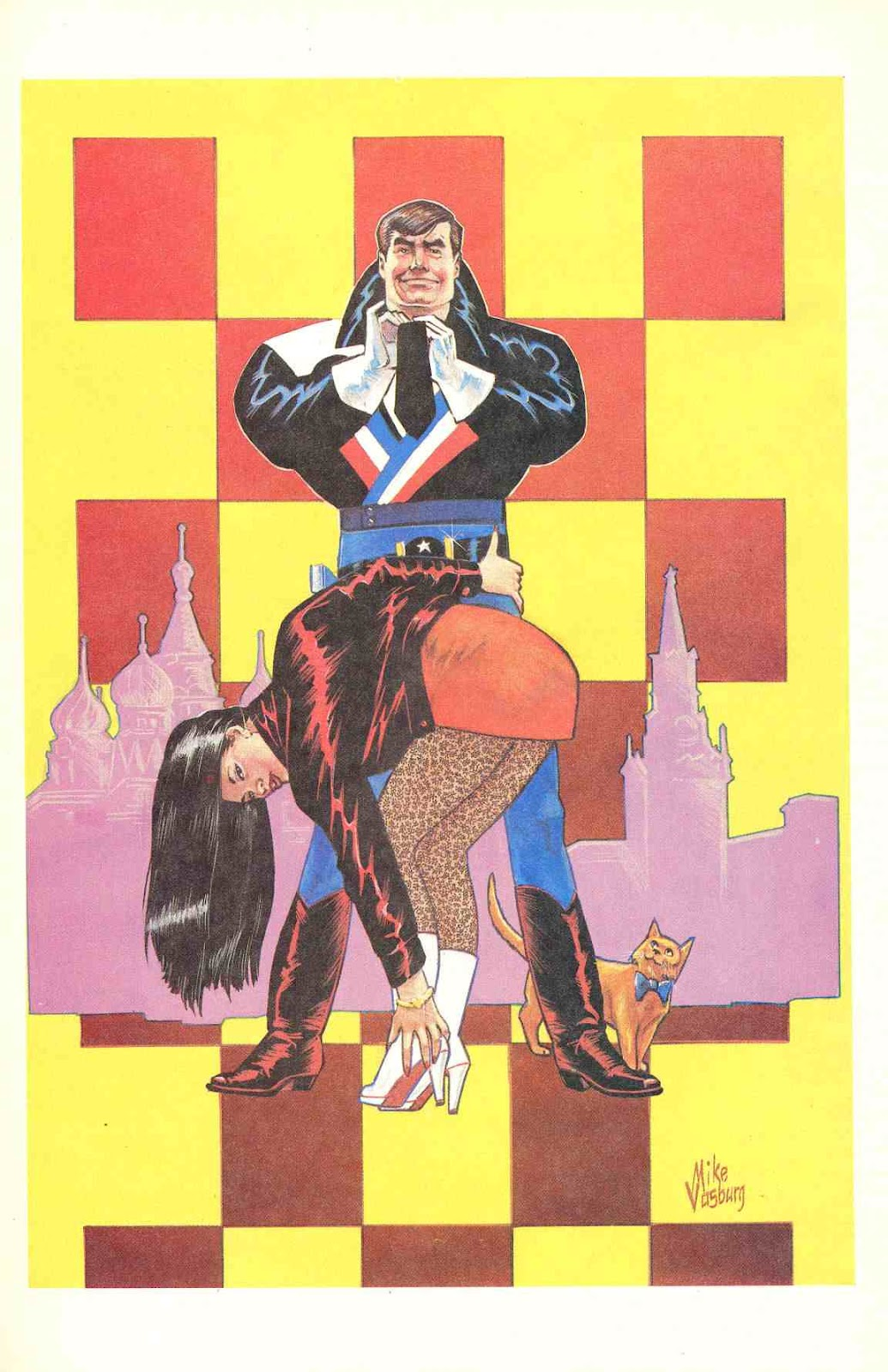 Howard Chaykin's American Flagg issue 12 - Page 27
