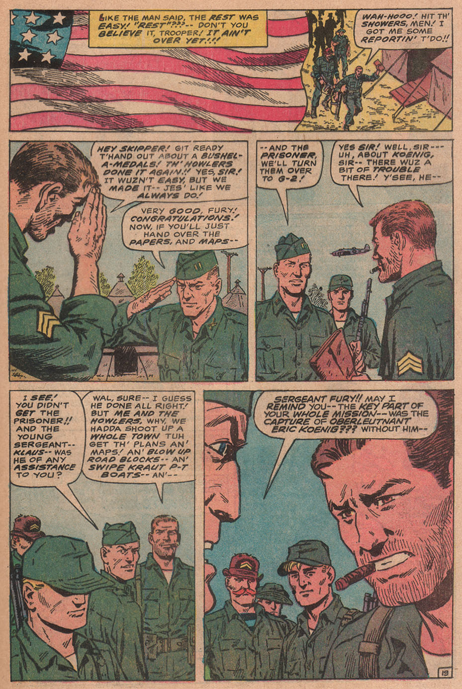 Read online Sgt. Fury comic -  Issue #77 - 29