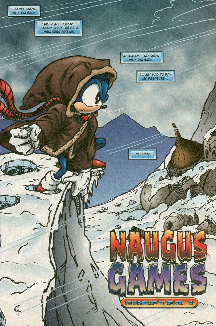 Read online Sonic Super Special comic -  Issue #15 - Naugus games - 4