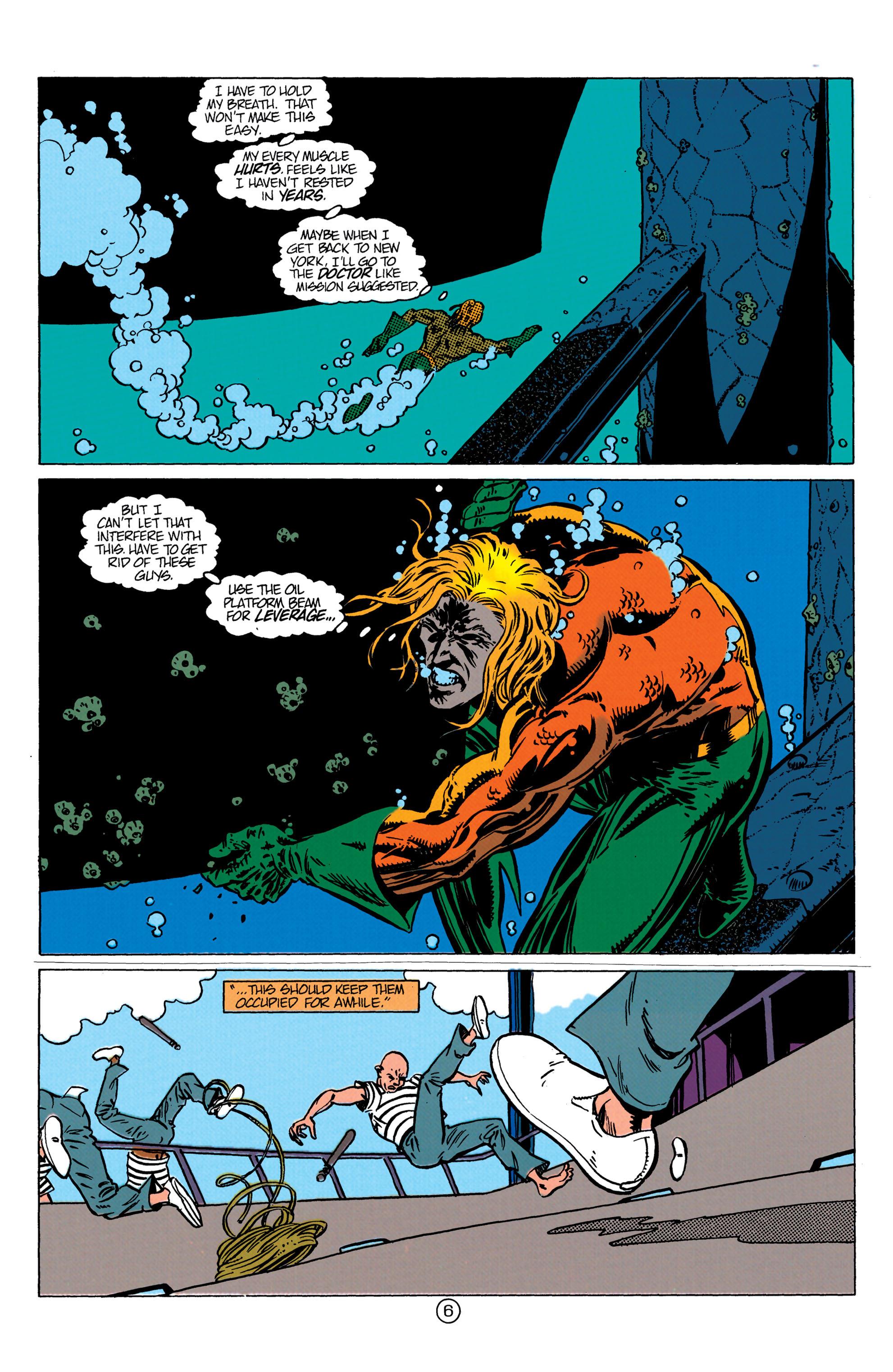 Read online Aquaman (1991) comic -  Issue #10 - 7