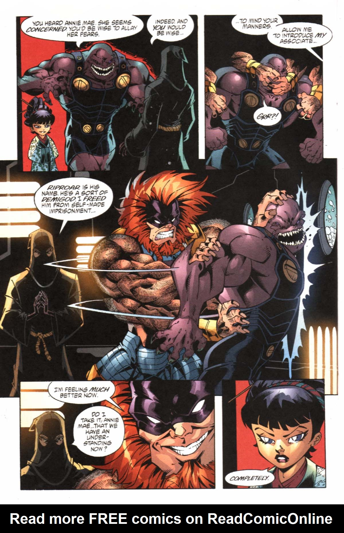 Read online SpyBoy/Young Justice comic -  Issue #1 - 18