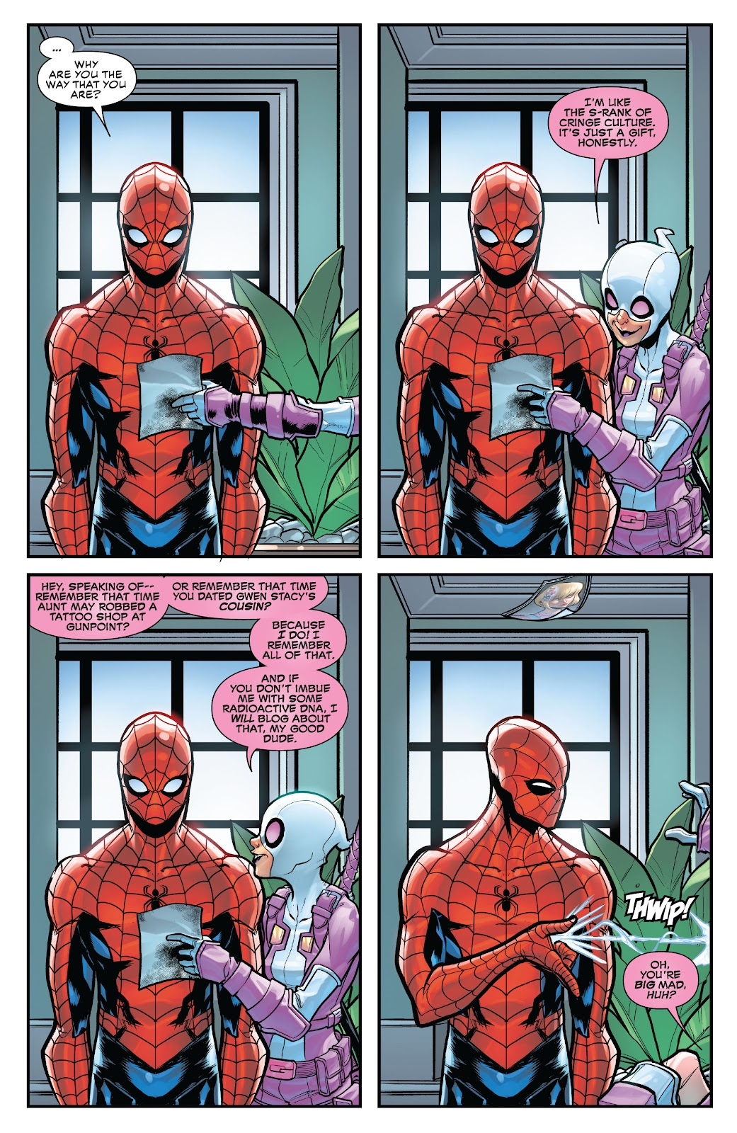 Gwenpool Strikes Back issue _TPB - Page 16