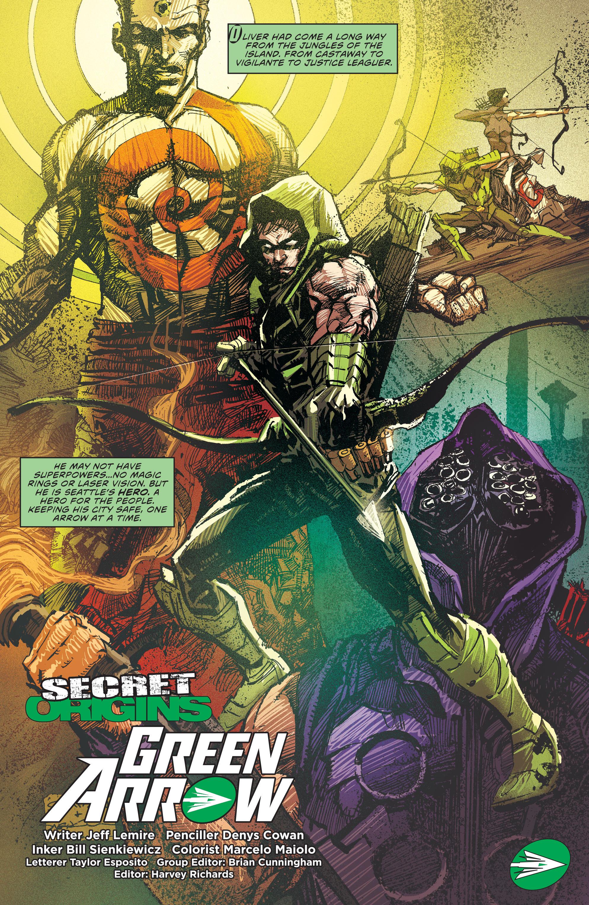 Read online Secret Origins (2014) comic -  Issue #4 - 25