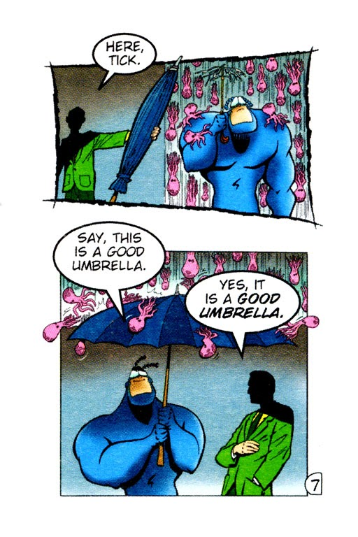 Read online The Tick: Days of Drama comic -  Issue #0 - 9