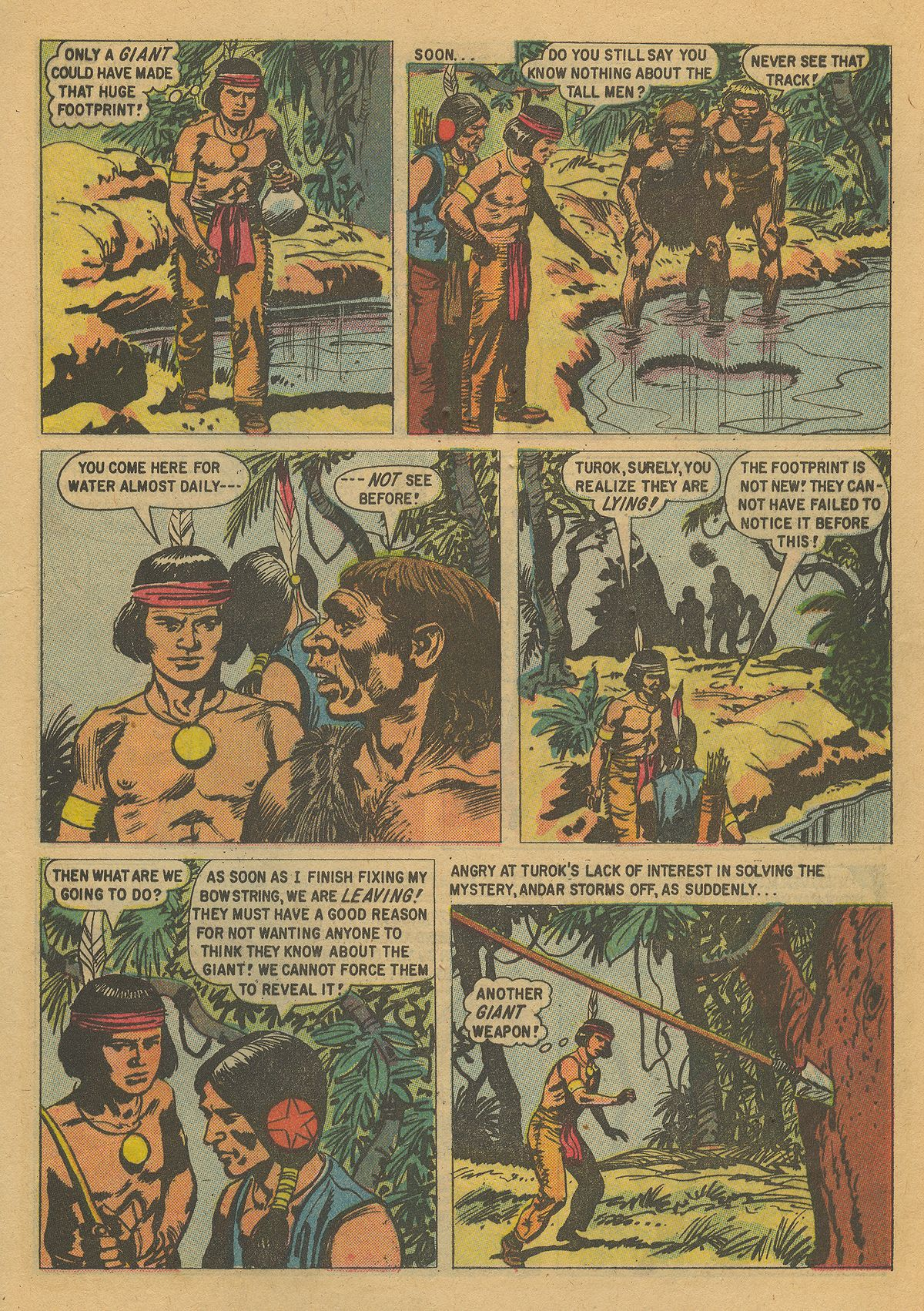 Read online Turok, Son of Stone comic -  Issue #16 - 9