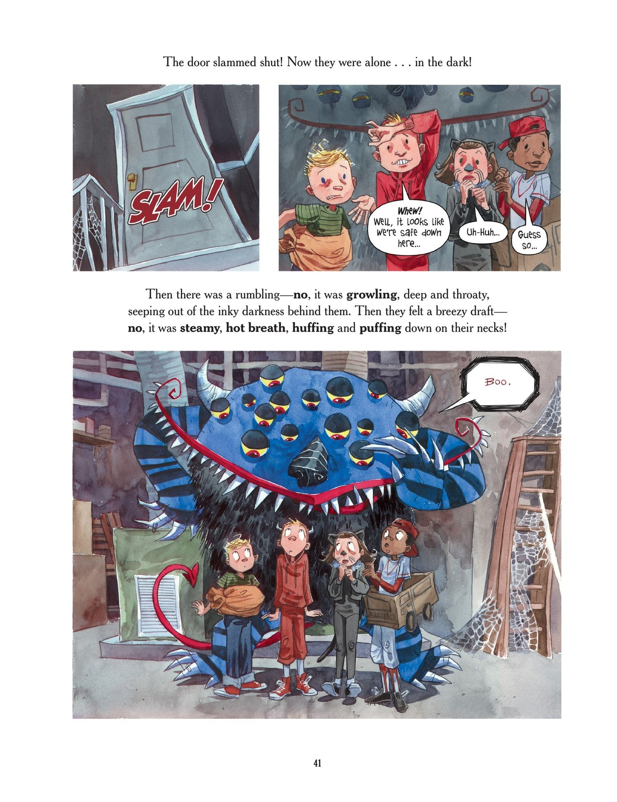 Read online Scary Godmother comic -  Issue # TPB - 41