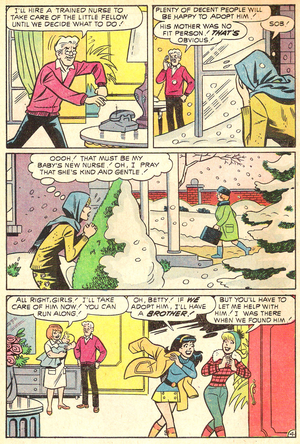 Read online Archie's Girls Betty and Veronica comic -  Issue #196 - 6