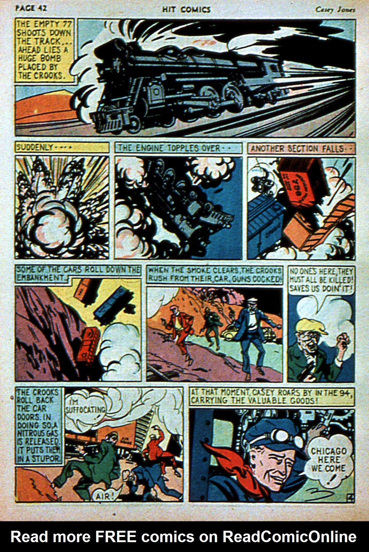 Read online Hit Comics comic -  Issue #3 - 44