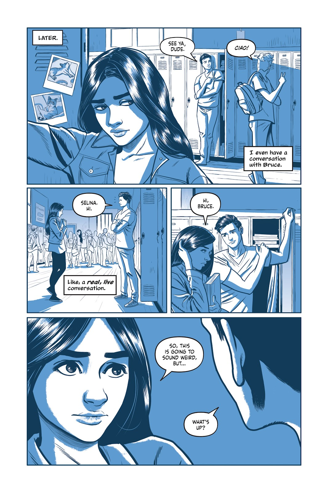 Read online Under the Moon: A Catwoman Tale comic -  Issue # TPB (Part 1) - 54