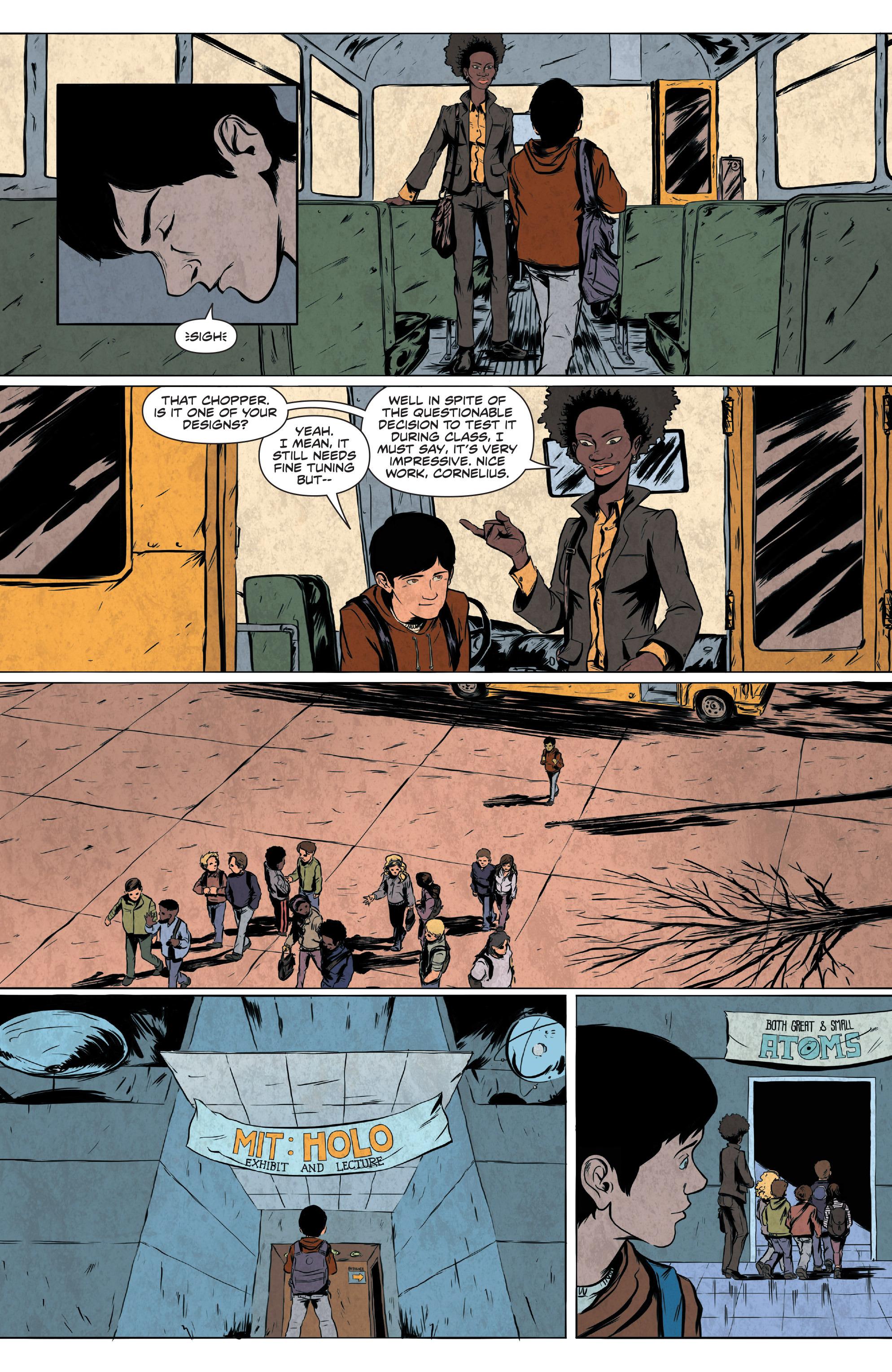 Read online Translucid comic -  Issue #2 - 4