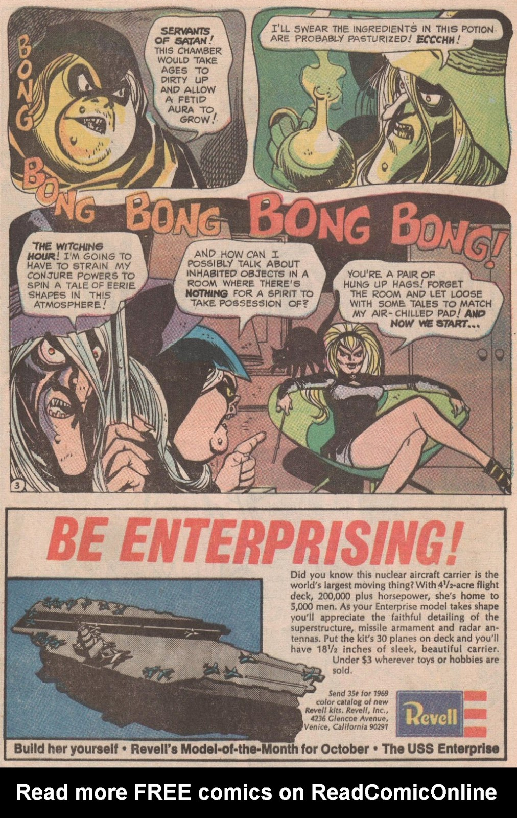 The Witching Hour (1969) issue 6 - Page 4