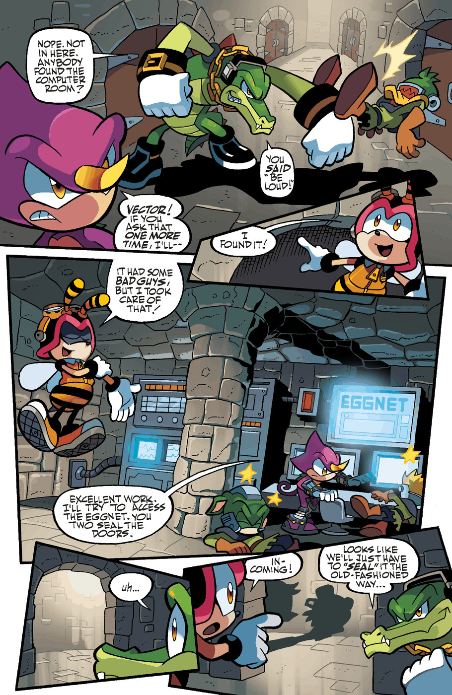 Read online Sonic Universe comic -  Issue #47 - 9