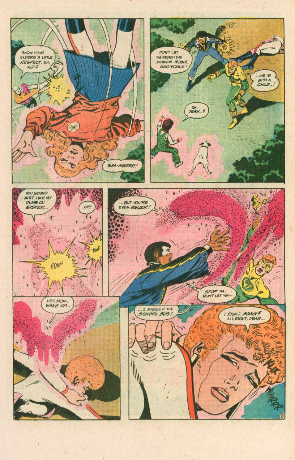Read online Adventures of the Outsiders comic -  Issue #40 - 9