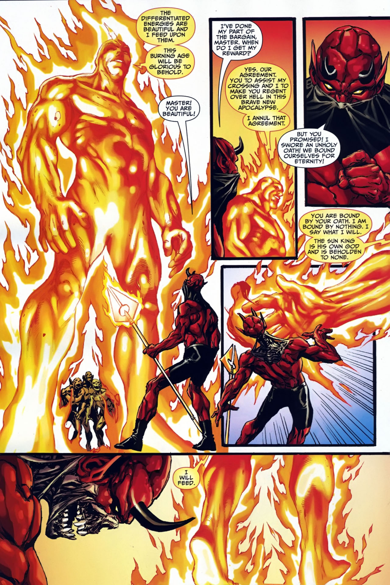 Read online Shadowpact comic -  Issue #24 - 12