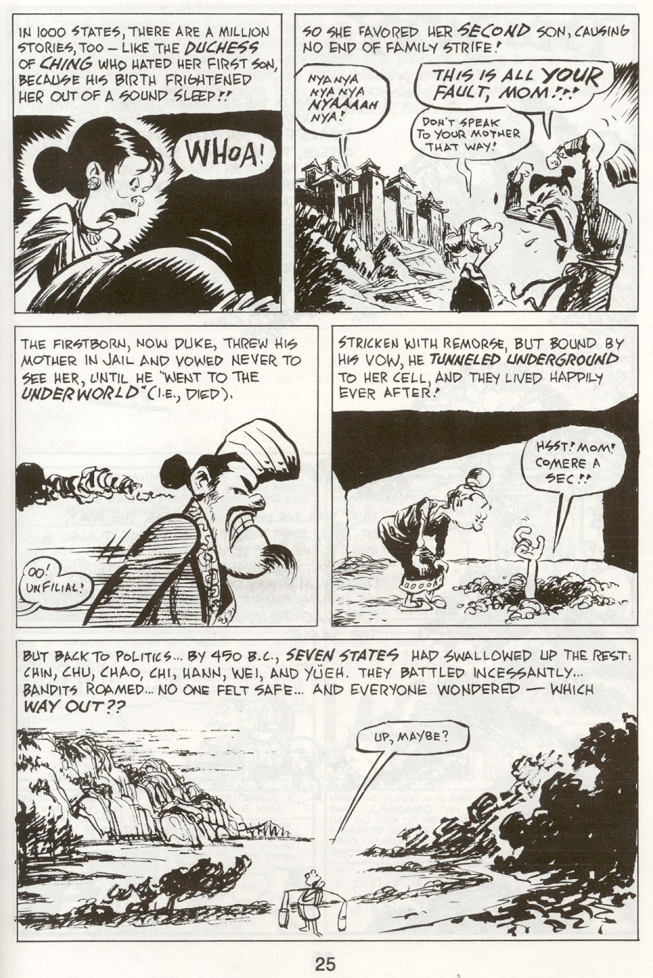 Read online The Cartoon History of the Universe comic -  Issue #9 - 28