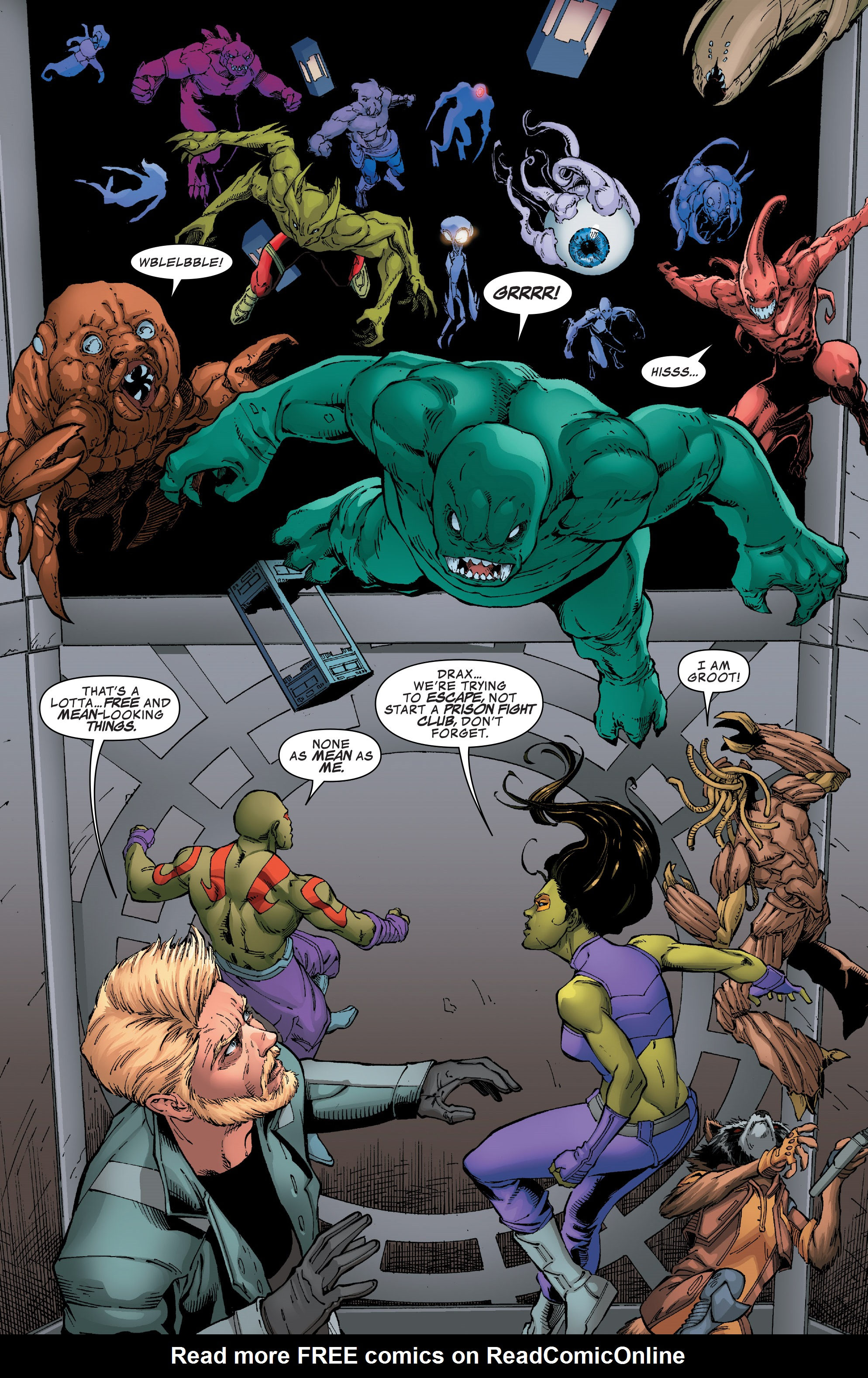 Read online Guardians of the Galaxy: Mission Breakout comic -  Issue # Full - 21