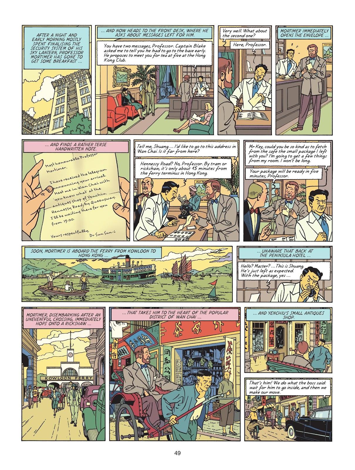 Read online Blake & Mortimer comic -  Issue #25 - 51