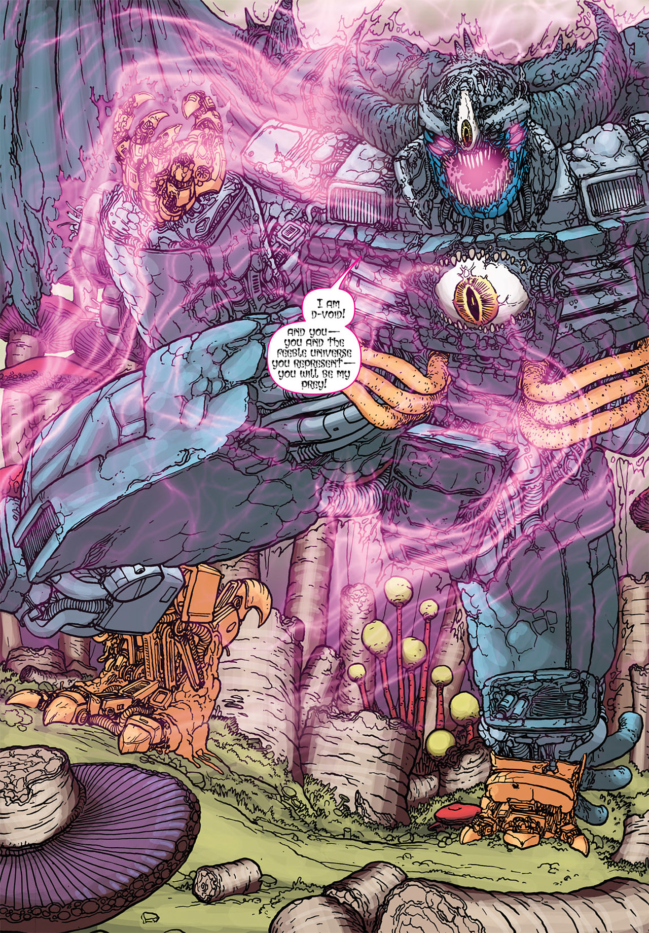 Read online Transformers: Heart of Darkness comic -  Issue #4 - 12