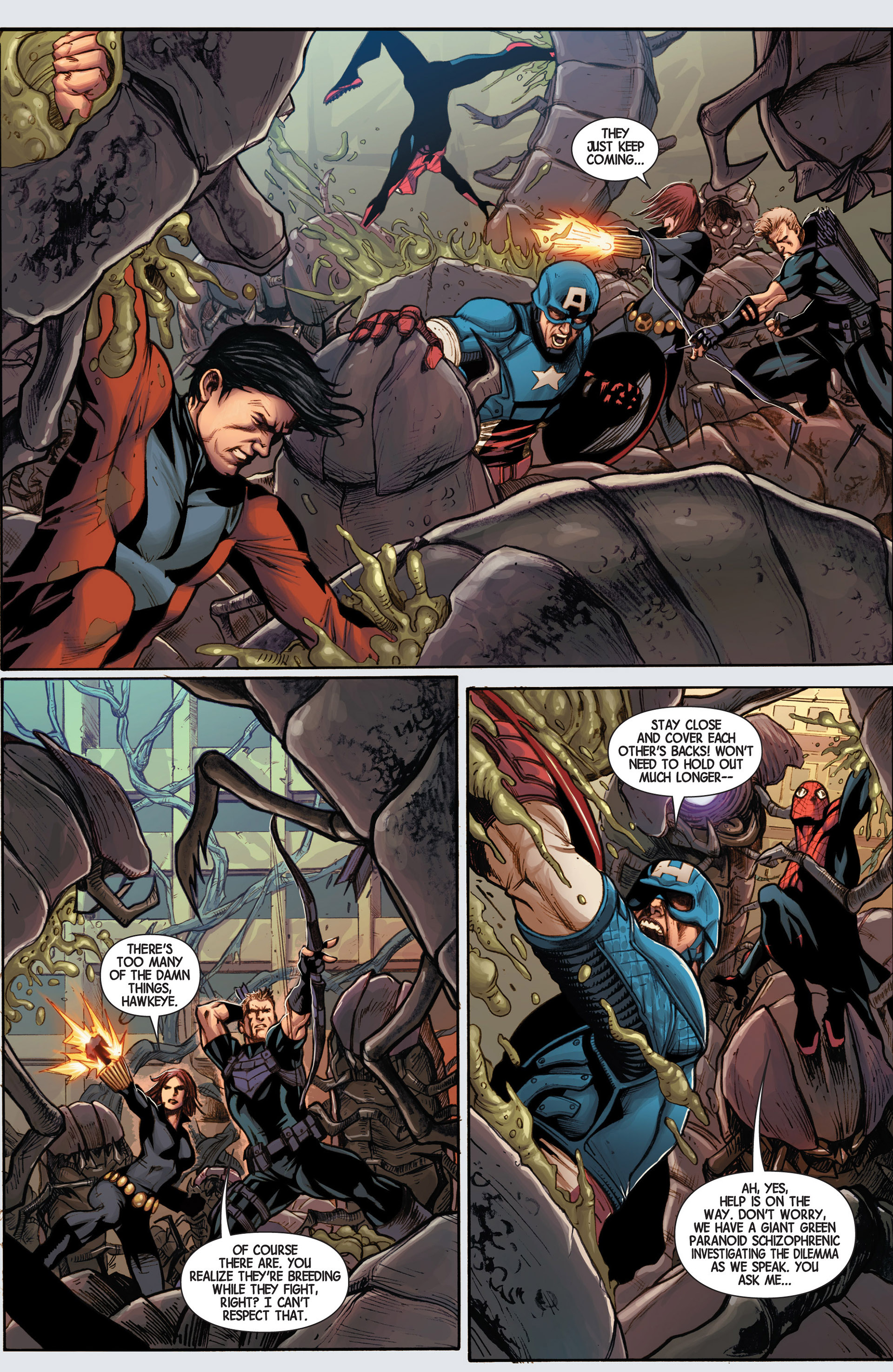 Read online Avengers (2013) comic -  Issue #15 - 6